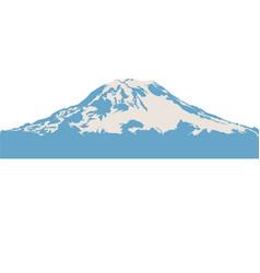 Mount rainier vector