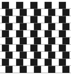 Optical - parallel lines made from black vector image