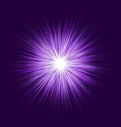 Purple explosion graphic design background vector
