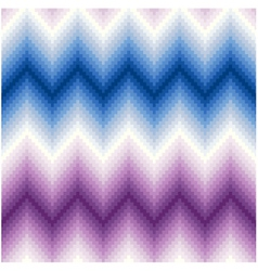 seamless pixel chevron background pattern vector image