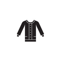 women sweater black concept icon women vector image