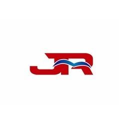 Jr logo graphic branding letter element vector