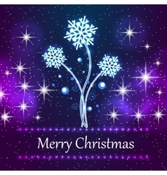 Featuring new Christmas concept background with vector image