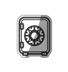 money strongbox deposit vector image vector image