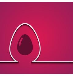 modern easter element design vector image vector image