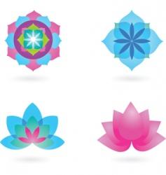 yoga backgrounds vector image