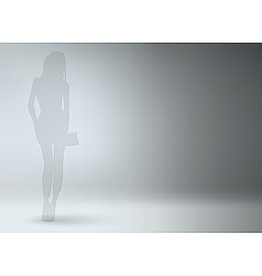 fashion model vector image vector image