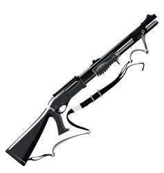 shotgun vector image vector image