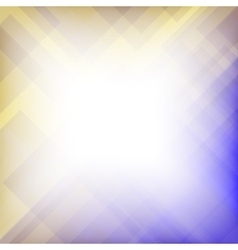 Abstract Elegant Blue Yellow Background vector image