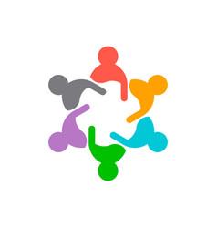 Business teamwork consultants vector