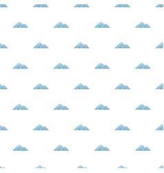 Climbing on mountain pattern seamless vector