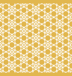 geometric ornament with hexagonal grid lattice vector image