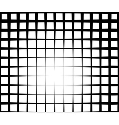 Grid light effect background in black and white vector