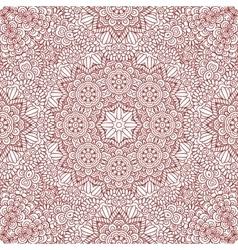 Mehndi henna design seamless pattern vector