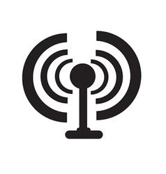Radio waves vector