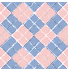 Rose Quartz Serenity Diamond Chessboard vector image