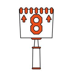score board vector image