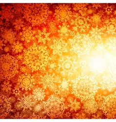 seamless deep orange christmas eps 10 vector image