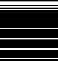 Straight horizontal lines pattern art vector
