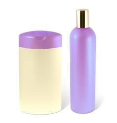 shampoo vector image vector image