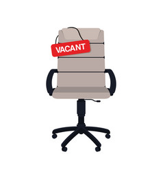 business hiring and recruiting concept vacant vector image