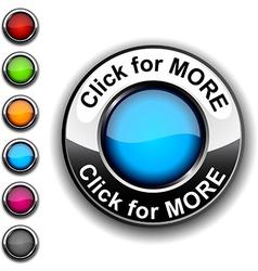 Click for more button vector