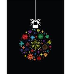 colourful ball ball vector image