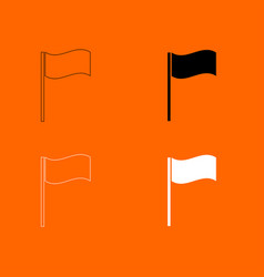 flag icon vector image