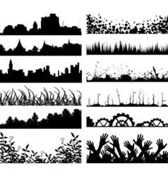 Foregrounds vector