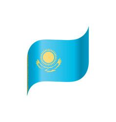 Kazakhstan flag vector