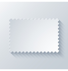 modern postage background vector image