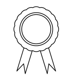 ribbons and labels on white vector image