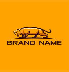 Saber logo template vector