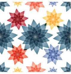 seamless pattern background with flowers for the vector image