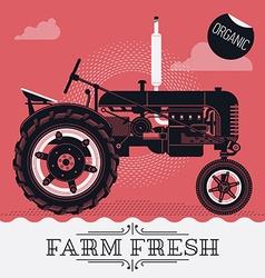 Farming Poster vector image vector image