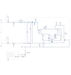 Hydraulic scheme vector