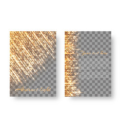 flickering background with bright particles vector image vector image
