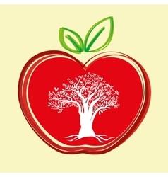 Apple design vector