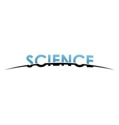 Science logo design creative science design vector