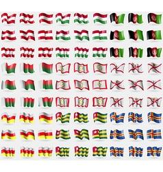 Austria Hungary Afghanistan Madagascar Sikkim vector