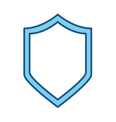 Badge security emblem vector