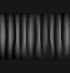 Black curtain from the theater with vector