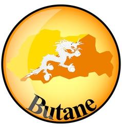 button Butane vector image