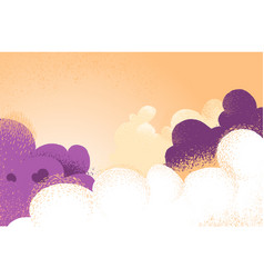 Cloudy background with spectacular colors and vector