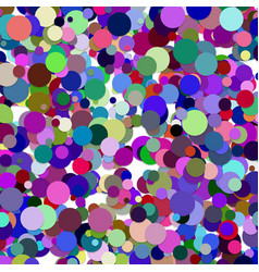 Multicolored scattered dot pattern background vector