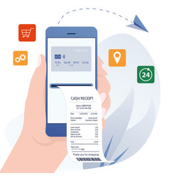online bill payment online banking internet vector image