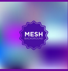 Primary purple mesh background vector