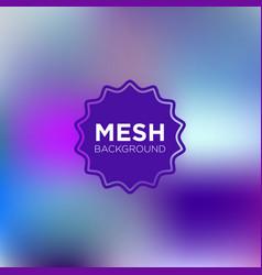 primary purple mesh background vector image