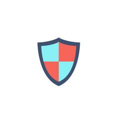 Shield protection icon vector