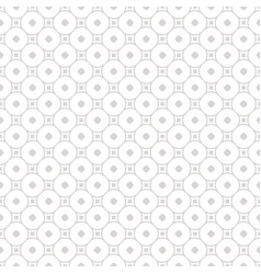 Subtle geometric seamless pattern with circles vector